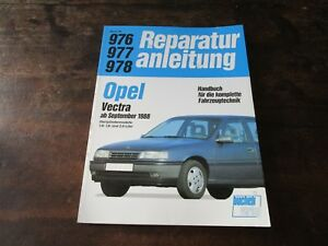 Opel Vectra 1.6 1.8 2.0 ab 1988 Bucheli Reparaturanleitung