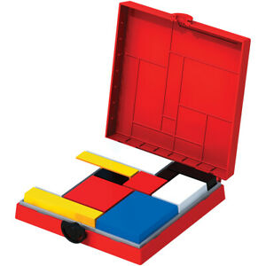 Mondrian Blocks- Red Edition