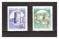 "s21497) ITALIA 1981 MNH**Nuovi** ""Castelli"" bobbine L.200 + L.300 2v"