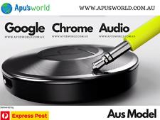 NEW GOOGLE Chromecast Chrome cast Audio Music Media Streamer WiFi 3.5mm Oz Stock