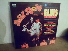 """2 LP 12 """" ELVIS PRESLEY - Solid Rocks - M/MINT - NEUF - RCA - FJL2 7120 - FRANCE"""