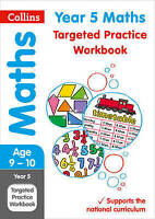 Year 5 Maths Targeted Practice Workbook. 2019 Tests by Collins KS2 (Paperback bo