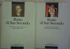 """Enciclopedia Italiana """"Rosso di San Secondo nella cultura"""" + """"nella letteratura"""""""