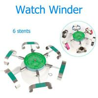 Watchmaker 6 Arms Automatic Watch Winder Cyclotest Tester Watch Repair Tools New