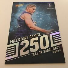 2018 Footy Stars - AFL Milestone Games MG27 Aaron Sandilands - Fremantle Dockers