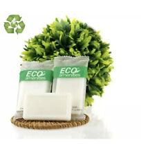 ECO AMENITIES Travel size 0.5 oz hotel soap , White,Green Tea, 100 Count E4