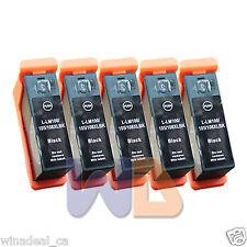 5 BLACK 100XL 105XL 108XL Lexmark ink Pro207 S301 S408 Pro708 Pro901 Printer