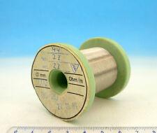 200ft / 60m NICHROME Nikrothal 52AWG 0.02mm 3371 Ω/m 1027 Ω/ft Resistance WIRE