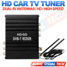 XTRONS CAR FREEVIEW DIGITAL DVB-T TV BOX TUNER RECORDER MPEG-4 2 DUAL ANTENNA