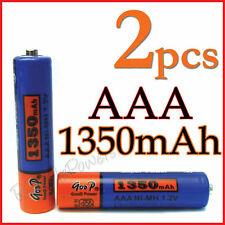2x AAA 3A 1350mAh Ni-Mh rechargeable battery GODP MP3