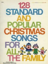 128 Standard and Popular Christmas Songs for All the Family 1979 Written Music