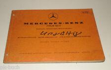 Catalogo Ricambi Mercedes Benz TIPO M 130 V Motore a Benzina Uscita B Stand