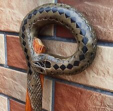 SNAKE Cane Walking Stick Wooden Handmade Wood Carving Exclusive Gift,*