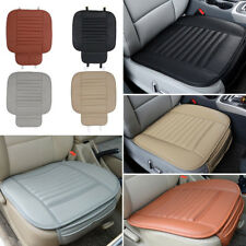 Car SUV Front Seat Cover PU Leather Breathable Bamboo Charcoal Cushion Universal