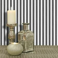 Black & White Striped Cotton Sheet Design, Paste the Wall Wallpaper by Galerie