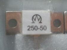 250 WATT 50 Ohm 0.5 GHZ DUMMYLOAD RESISTOR/WIDERSTAND