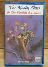 MOODY BLUES ON THE THRESHOLD OF A DREAM PAPER LABEL CASSETTE TAPE DERAM 1969