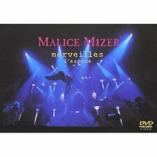 New! MALICE MIZER GACKT merveilles l'espace Japan with Tracking