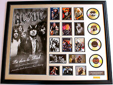 New AC DC Signed Oversized Limited Edition Memorabilia