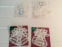 Lot WIMPOLE STREET CREATIONS Handmade Lace Bells Easter Bunnies Bunny 20312