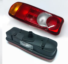 PAIR REAR TAIL LIGHTS LAMP CHASSIS CAB FIT CITROEN RELAY VAUXHALL MOVANO VIVARO