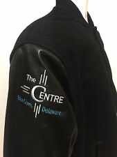 THE PRETENDER THE CENTRE Crew Original Wool Leather Letterman Sichel Jacket Rare