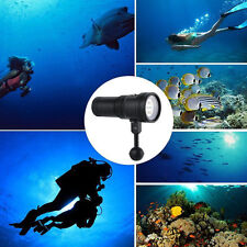 2400LM IPX-8 LED Diving Flashlight Waterproof Underwater Torch Light for Camera
