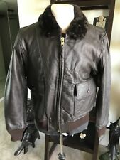 G-1 Excelled  DSCP Leather Flight Jacket USMC Marines USN Sz 44 L Nicest!!💎
