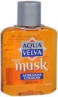 Aqua Velva Musk After Shave Cologne 3.50 oz (Pack of 6)
