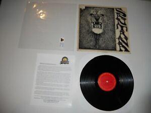 Santana S/T Lion USA Columbia Analog '71 EXC 2nd ULTRASONIC Clean