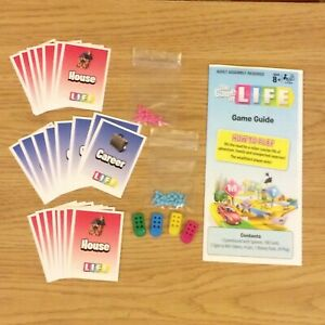 Game of Life Instant Win Spare Parts - please choose from list
