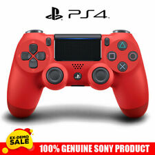 PLAYSTATION 4 Controller V2 Wireless PS4 Gamepad Magma Red Joystick