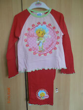 Fifi Red Bedtime Quality Girls Pyjamas Aged 2-3 Years Long Sleeves and Legs