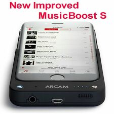 Arcam MusicBoost S, Portable Headphone Dac Amp +battery pack for iPhone 6 6S & 7