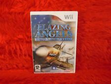 wii BLAZING ANGELS Squadrons Of WWII Air Combat of Pearl Harbor PAL UK