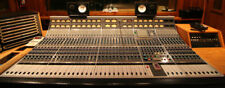 Vintage Neve analog mix board audio processing master service