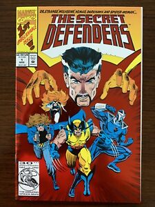 The Secret Defenders #1 (Marvel 1993) Wolverine, Dr Strange, Darkhawk.  NM!