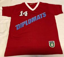 f3c16cdc5088 Washington Diplomats Rétro maillot t-shirt 1980 home, shirt, replica taille  M