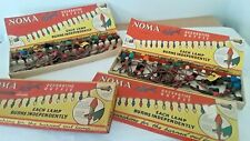 Vintage Noma-15 Light Christmas Holiday Set in Original Box Old (N160c-s2c)