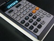 Vintage Casio FX 19 Scientific Calculator and Case
