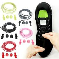 Elastic No Tie Locking Round Shoelaces Shoe Laces For Dults Kids Casual Sneaker