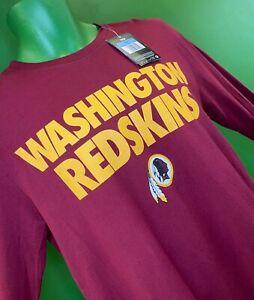 T896/250 NFL Washington Redskins Nike L/S T-Shirt NWT Men's Medium