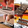 11 Pcs Understring Radius Gauge Setup Premium Luthier Tools Kit Fits Guitar Bass