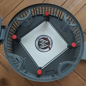 WWE Micro Aggression Elimination Chamber (2008) Wrestling Ring Cage & 2 Figures