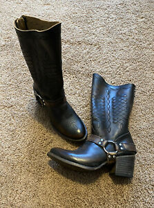 Freebird Women Boots By Steven SHAWNA Sz 6 Zip Ankle Strap
