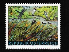 Birds Frog Dragonfly mnh stamp 1999 Austria #1792 Danube-Floodplain Natl. Park