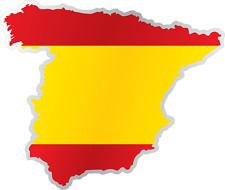 Spain Map Ebay