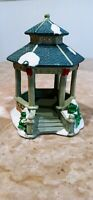 Lemax Christmas Village Carole Towne - Gazebo (2003) Great Condition w/out box