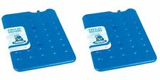 2 x Thermos Freeze Board Ice Pack Block 200g For Cool Bag Chill Box Cooler