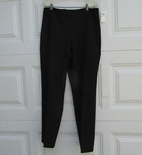 REAL CLOTHES Black Melissa Dress Pant Side Zip Women 14